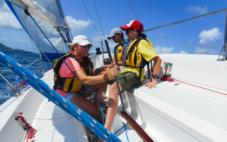 Caribbean bravo teen sailing — pic 4